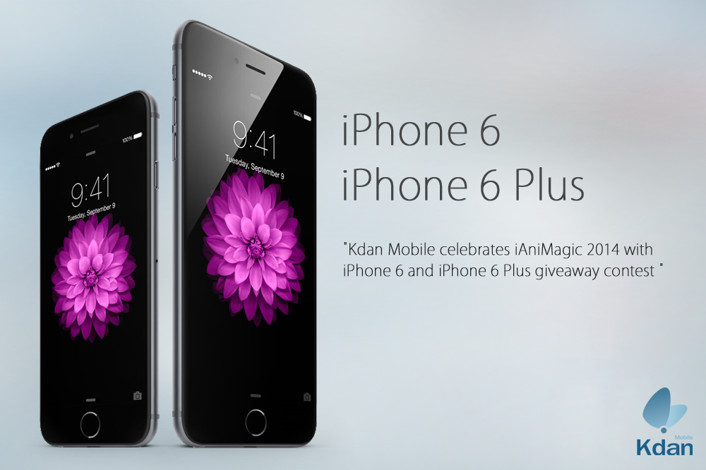 facebook iphone 6 giveaway kdan mobile celebrates ianimagic 2014 with iphone 6 plus 4944